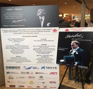 Troya Was Main Sponsor of Turkish Society of Canada Event